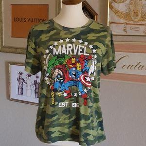 Marvel - Camo Short Sleeve Tee